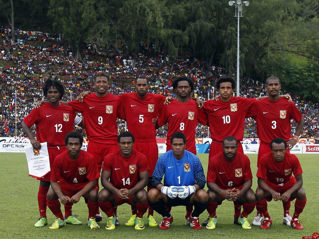 Сборная России могла бы сыграть со сборной Папуа-Новая Гвинея на Кубке Конфедераций FIFA