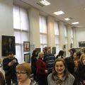 Выступление Николая Миклухо-Маклая на открытии выставки полиреализама