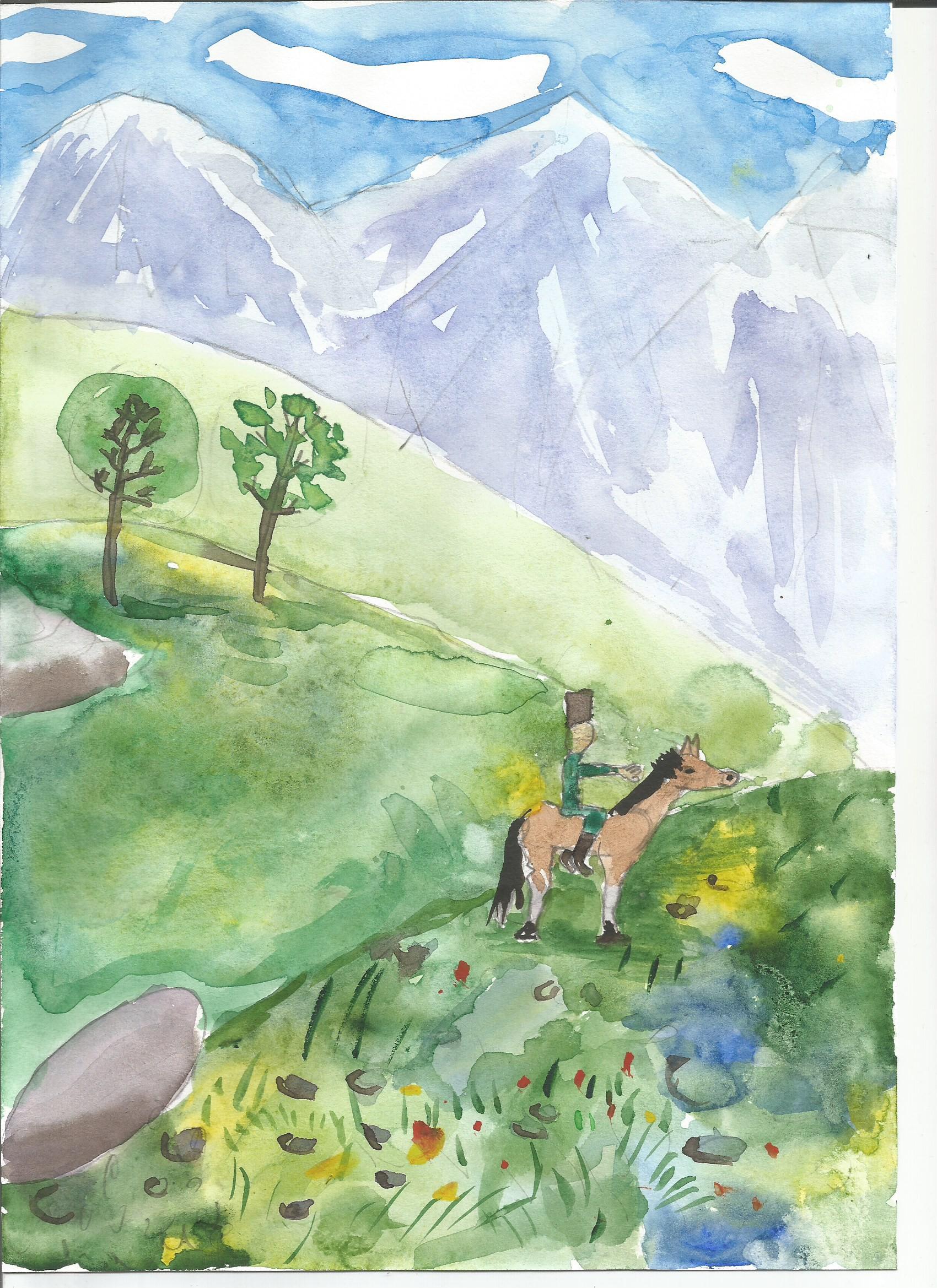Конкурс детских рисунков (учащиеся 1-4 классов)