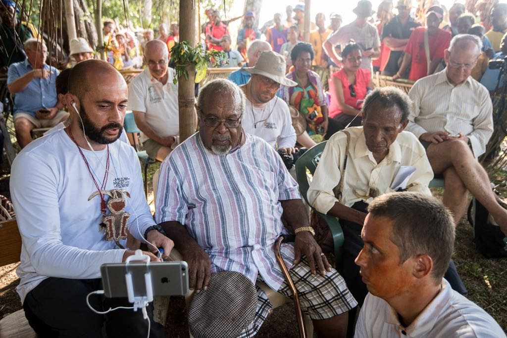 Телемост Россия - Папуа - Новая Гвинея